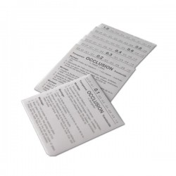 ASSORTIMENT DE 10 FEUILLES D'OCCLUSION