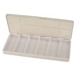BOITE PLASTIQUE 6 CASES