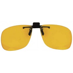 FACE RELEVABLE JAUNE POLARISEE L62mm X H54mm
