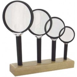 ASSORTIMENT DE 4 LOUPES BIFOCALES