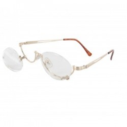 LUNETTE DE MAQUILLAGE EN METAL DOREE