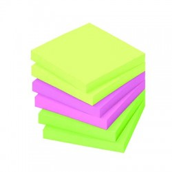 POST IT COULEURS VIVES X 6 BLOCS
